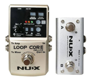 Pedal Nux Loop Core Deluxe Com Pedal A B