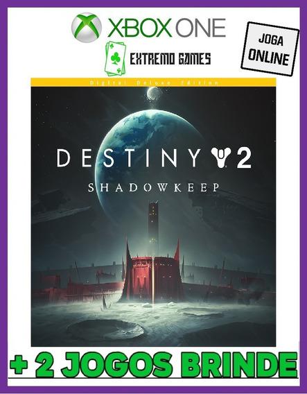 Destiny 2 Digital Deluxe - Xbox One + 2 Brindes