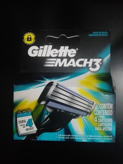 Gillette Mach3 Afeitadoras Y Cartuchos