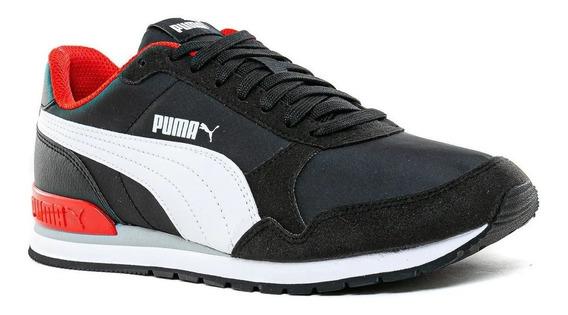 Zapatilla Puma Lifestyle Hombre St Runner V2 Negro Clic