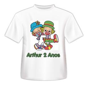 Camiseta Patati Paattá Infantil Menino Personalizada C/nome