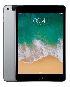 iPad Mini 4, Tela Retina, 128gb, Cinza, Wi-fi + Cellular