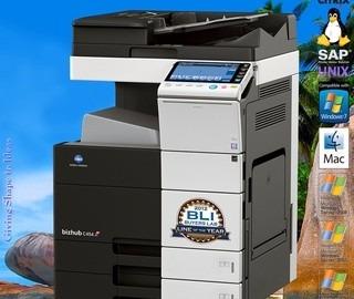 Impressora Laser Multifuncional Konica C284