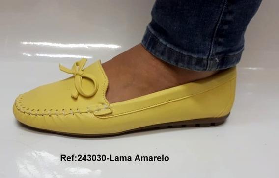 Mocassim Mocatênis Palmilha Confort Cores Variadas Casual Sapato