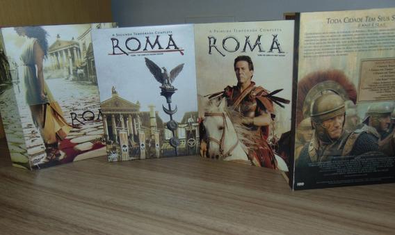 Roma - [ 11 Dvds - 1ª E 2ª Temporadas ] - Estojo De Madeira