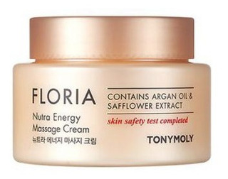 Tonymoly - Floria Nutra Energy Massage Cream - Exfoliante