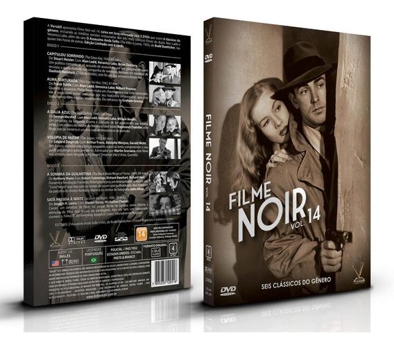 Dvd Filme Noir Vol 14 - Ed Limitada Com 6 Cards / 6 Filmes