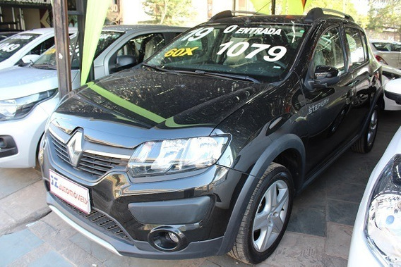 Renault Sandero Stepway 1.6 Financiamento Aplicativo Uber