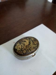 Pastillero Antiguo Oro Toledano