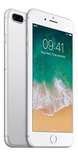 iPhone 7 Plus Apple Prata 128 Gb, Desbloqueado - Mn4p2bz/a