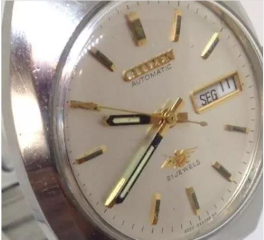 Relógio Citizen T08402 Masculino Automático Webclock