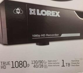 Dvr Hd Lorex By Flir 1080p 4ch 1tb Lhv210400