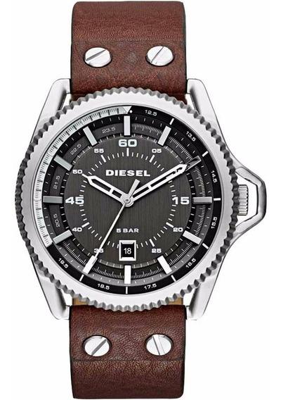 Relógio Diesel Masculino Couro - Dz1716 ( Nfe )