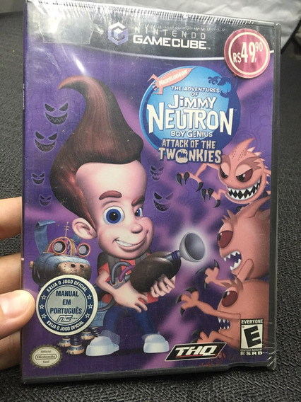 Jimmy Neutron Boy Genius Attack Of The Twonkies Gamecube!