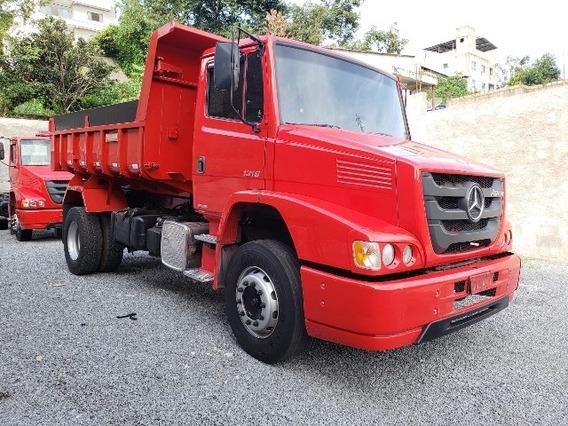Mercedes-bens 1319 4x2 Ano 2014/2014 Caçamba Basculante