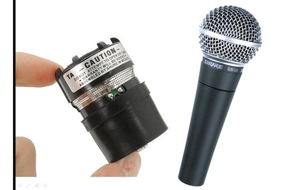 5 Cápsulas ** Profissionais P Microfones Sm58 Shure E Outros