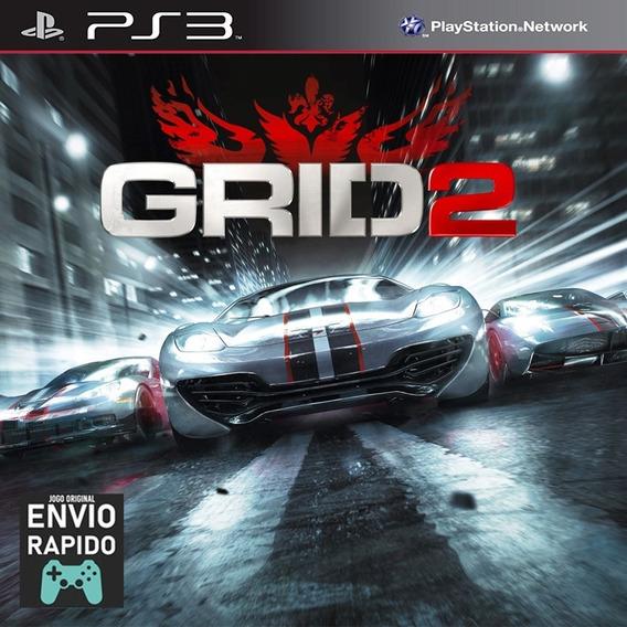 Grid 2 Em Portugues - Jogos Ps3 Playstation 3 Original