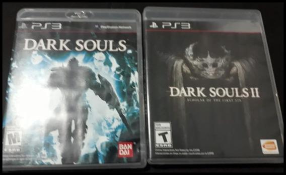 Dark Souls 1 & 2 - Ps3 Conjunto