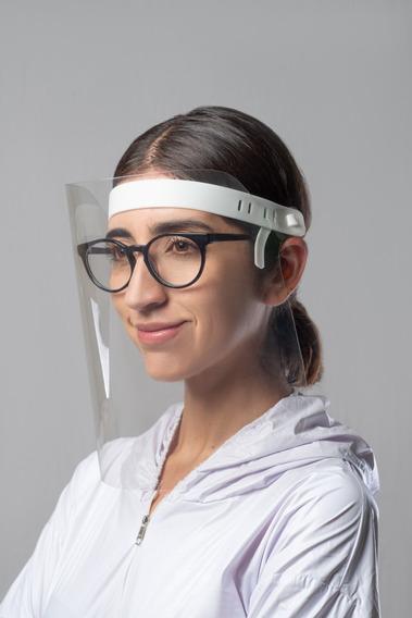 100pzs Caretas Protección Facial Ajustable Mayoreo 100%mex