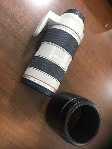 Lente 70 200 Canon