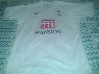 Camisa Tottenham Hotspur Rara 2007/2008 Edição De 125 Anos