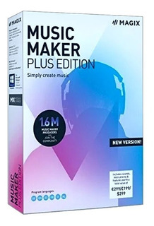 Music Maker Plus 2019 Software Prod Musica Licencia Original