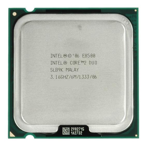 Processador Core 2 Duo E8500 Lga 775 Temos E8400 E7500 ¨