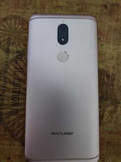 Tablet-mini Ms80 Mem Ram 3gb/32 Gb Dourado Branco