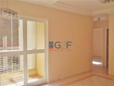 Apartamento Com 3 Dormitórios À Venda, 64 M² Por R$ 295.000 - Loteamento Parque São Martinho - Campinas/sp - Ap8051