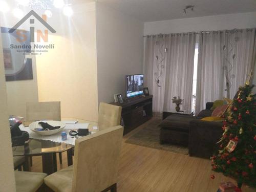 Imagem 1 de 15 de Apartamento Com 3 Dormitórios À Venda, 78 M² Por R$ 565.000,00 - Centro - Arujá/sp - Ap0152