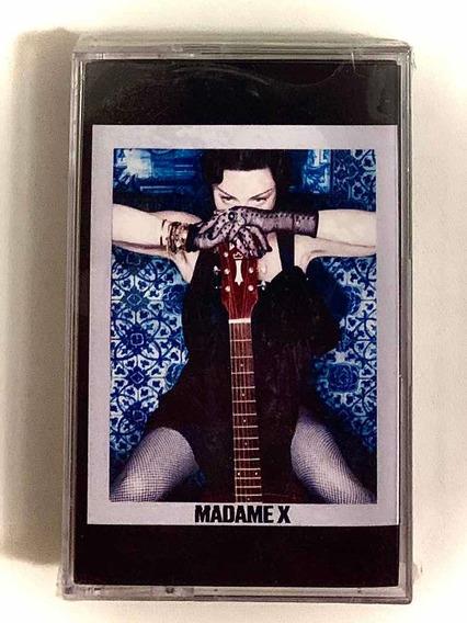 Madonna Madame X Cassette Azul Sellado Nuevo - Envió Gratis!