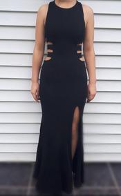 Vestido De Gala Negro