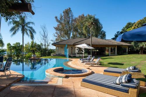Casa Com 8 Dormitórios À Venda, 1300 M² Por R$ 8.500.000,00 - Estância Brabância - Avaré/sp - Ca0512