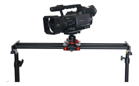 Trilho Slider P Filmagem Em Cameras E Dslr