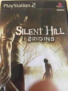 Silent Hill Origins Ps2 Línea Negra En Perfecto Estado!
