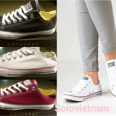 Zapatos Converse Made In Vietnam