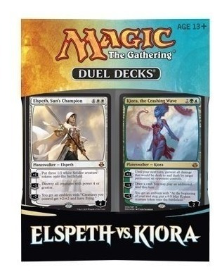 Elspeth Vs. Kiora - Mtg Magic The Gathering 2015 Duel Decks