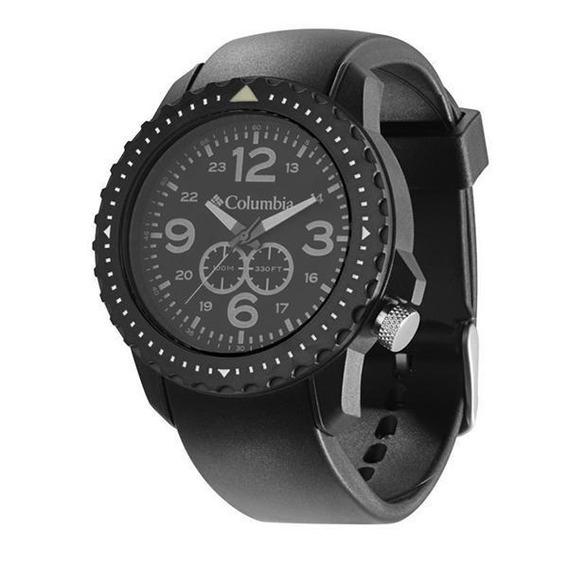 Relógio De Pulso Columbia Urbaneer - Preto/preto