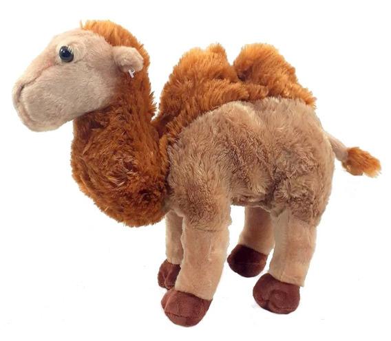 Camelo Bicho De Pelúcia 30 Cm Lavável Anti-alérgico Unissex