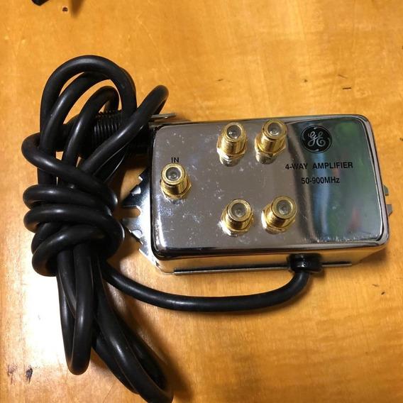Amplificador De Sinal De Antena Para Tv Vhf/uhf- 50-900 Mhz