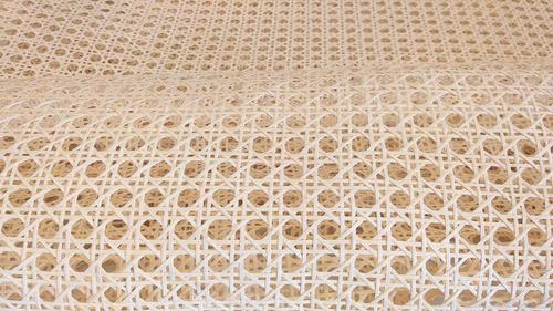 Imagem 1 de 9 de Textil Americana Fabricante Tela De Palha Natural Sextavado