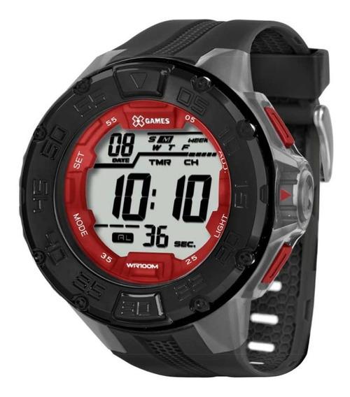 Relógio Digital X Games Masculino Xmppd338 Original + Nf
