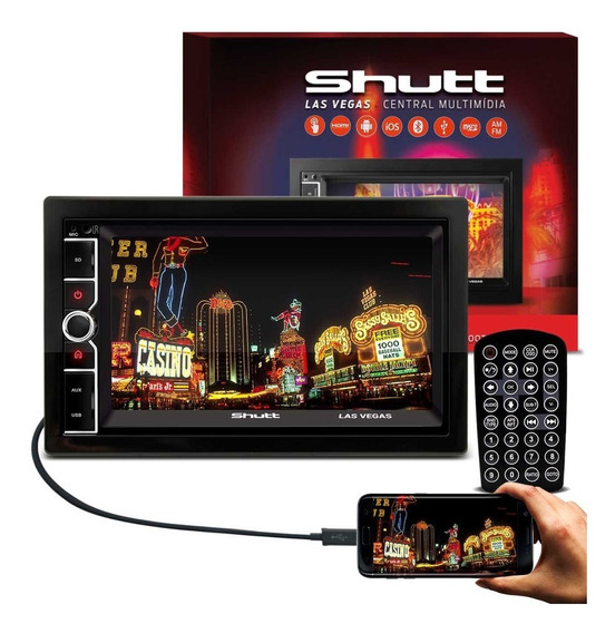 Mp5 Player Las Vegas 6.5 Pol Hdmi Bt Usb Shutt Multimídia