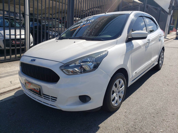 Ford Ka Hatch 2015 Completo 1.0 Flex Revisado