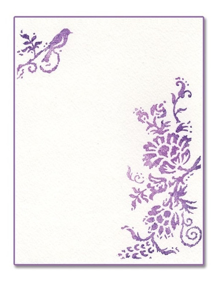 Carpeta De Repujado -embossing Folder- Rustic Elegant Flower