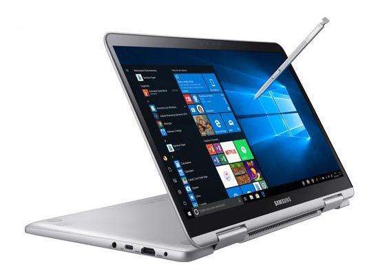 Notebook Samsung I7 8gb 256gb Ssd 13,3 S51 Np930qbe-kw1br