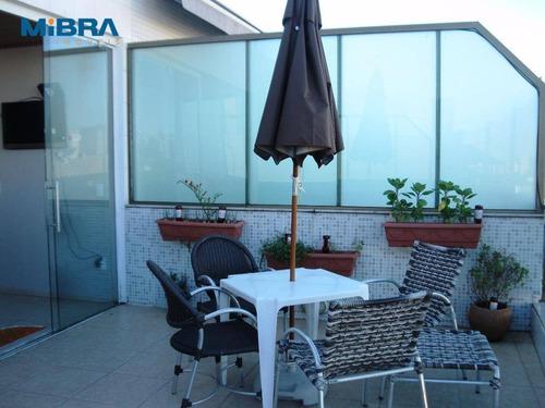 Cobertura 3 Quartos Em Jardim Da Penha - Co0080