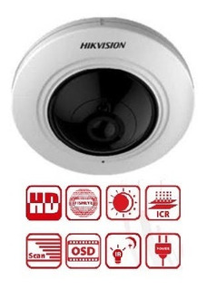 Fisheye 360/180 Hikvision 5mp