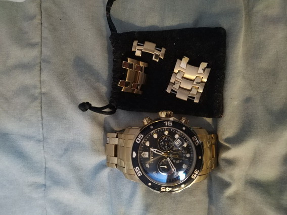 Relógio Invicta Pro Diver Scuba 0072 Cronógrafo Calendário