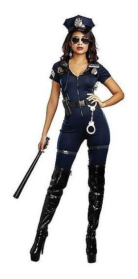 Disfraz Policia Traje Completo Sexy Halloween